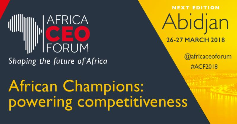 Nigeria's economic diversification strategy to be highlighted at the AFRICA CEO FORUM
