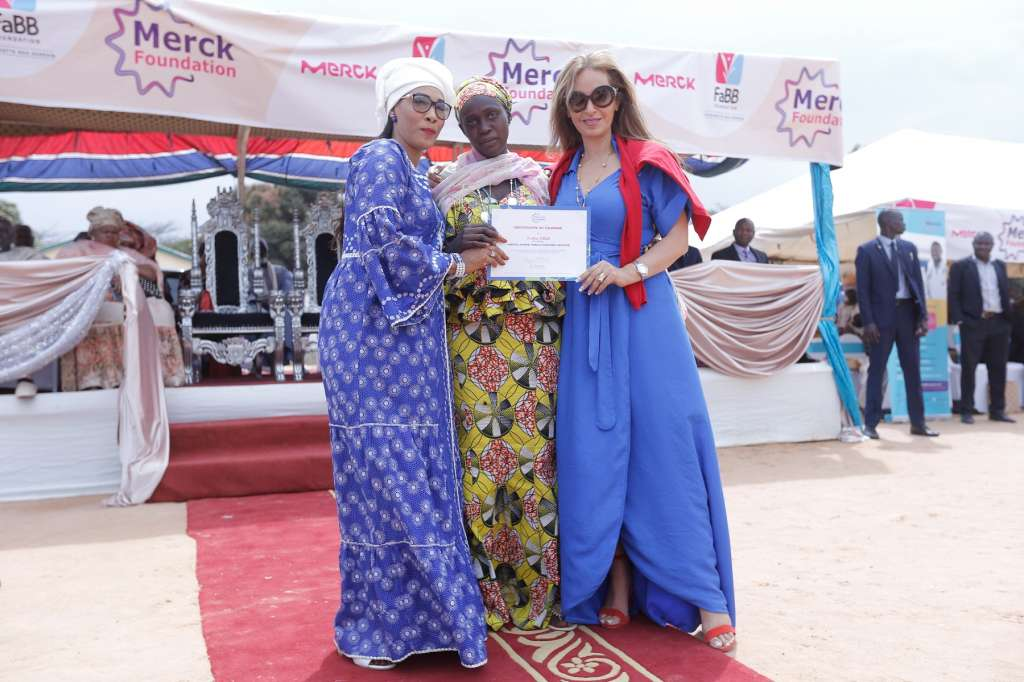 Merck launches their Merck Foundation in The Gambia in partnership with The First Lady of The Gambia