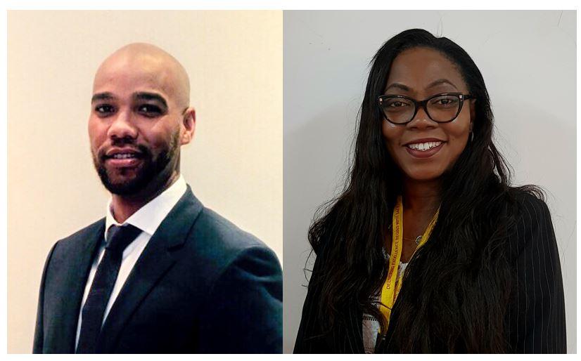 (left) Agnaldo Laice, Country Manager for Kenya, DHL Global Forwarding and (right) Maureen Adibuah, Country Manager for Nigeria, DHL Global Forwarding
