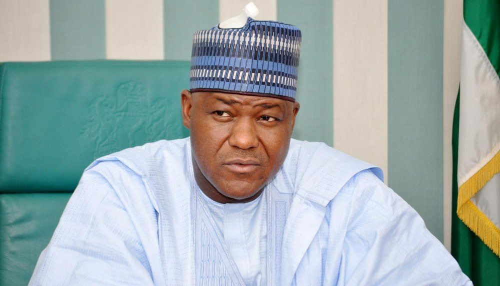 Speaker of the House of Representatives, Hon Yakubu Dogara