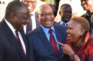 Zuma And Ramaphosa All Smiles At Zuma's Farewell Dinner