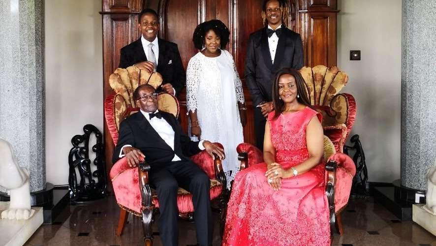 Mugabe holds low-key birthday celebrations
