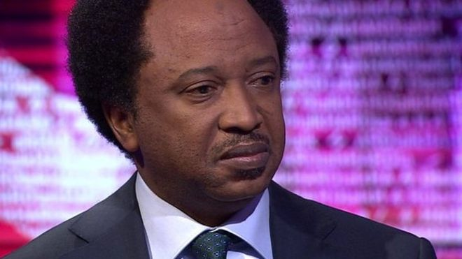 "Shehu Sani said the expenses were a ""moral issue"""