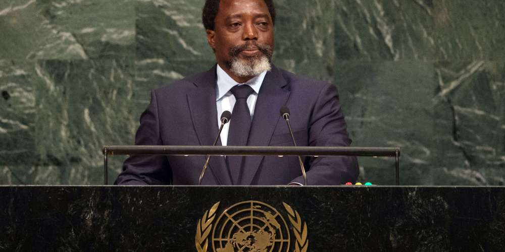 Joseph Kabila Photographer: BRYAN R. SMITH/AFP/Getty Images