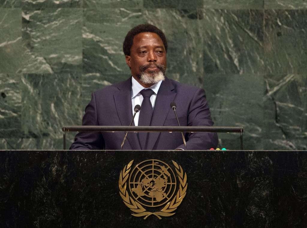 Joseph Kabila Photographer: BRYAN R. SMITH/AFP/Getty Images