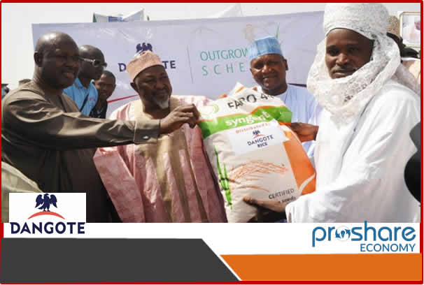 Rice Production: Dangote Inaugurates Multi Billion Naira Rice Processing Plant in Jigawa…Promises to End Rice Importation