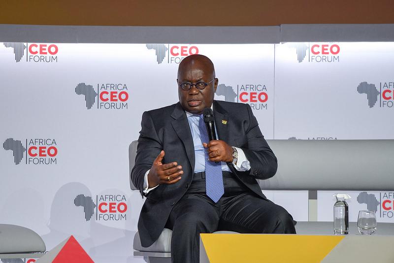 Nana Akufo-Addo, President of Ghana