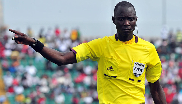 Bakary Papa Gassama from Gambia will officiate at the world cup in Russia