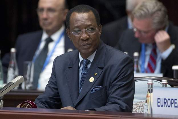 Idriss Deby came to power in 1990