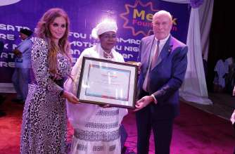Merck Foundation appointed the First Lady of Niger H.E. Mrs. Aissata Issoufou Mahamadou as an Ambassador of 'Merck More Than a Mother'