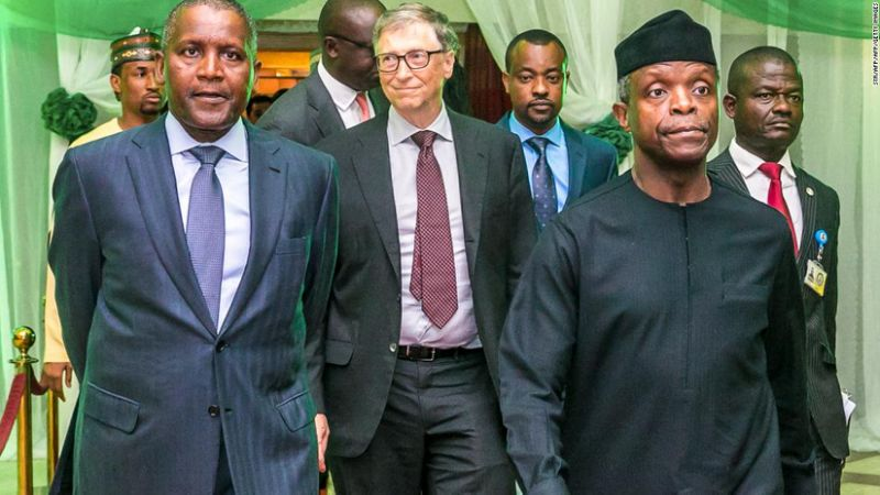 Bill Gates tells Nigerian leaders to 'face facts' so they can make progress
