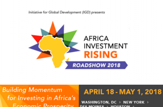 Initiative for Global Development Announces Sponsorship Line up for U.S. Roadshow Tour
