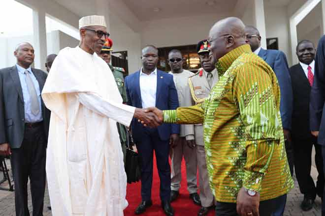 Buhari and Akufo Addo