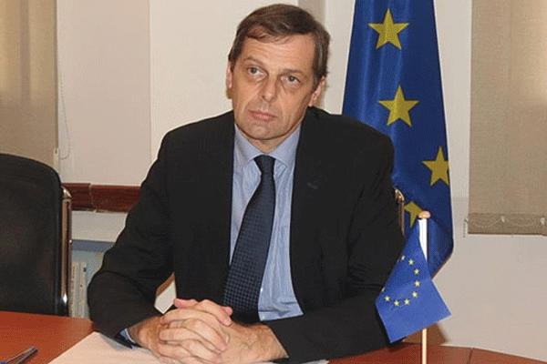 EU Ambassador to Zimbabwe Philippe Van Damme