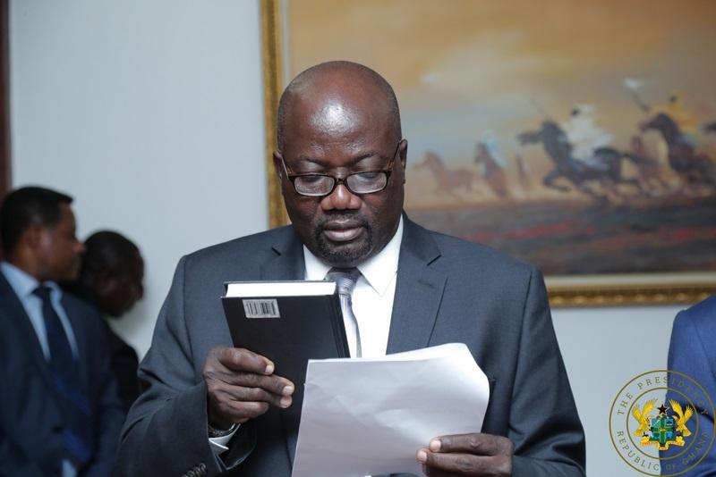 Eric Odoi-Anim Ambassador to Zimbabwe