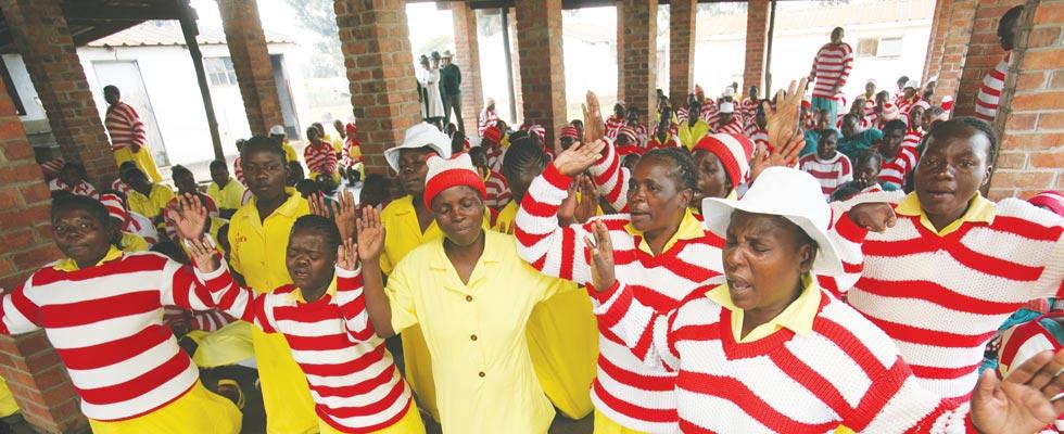 Female prisoners in Zimbabwe