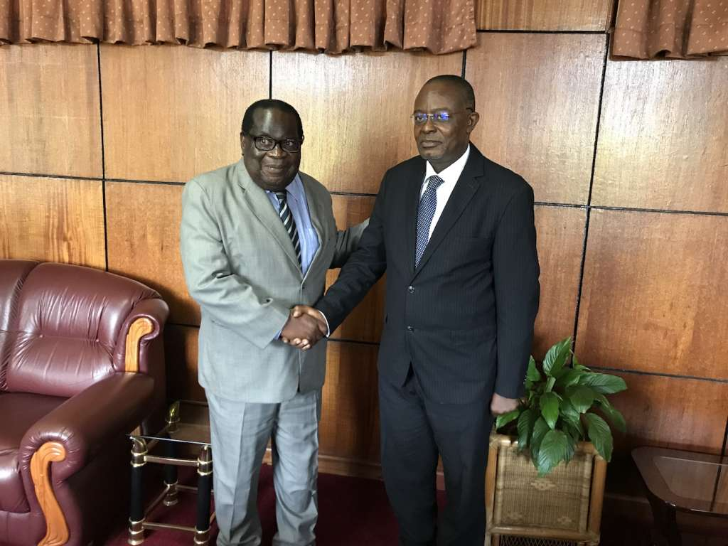"""""""L-R: Dr. Goodall Gondwe, Malawi Minister of Finance and Dr. Ini Urua, AFC Senior Vice President, Country & Investor Relations"""""""