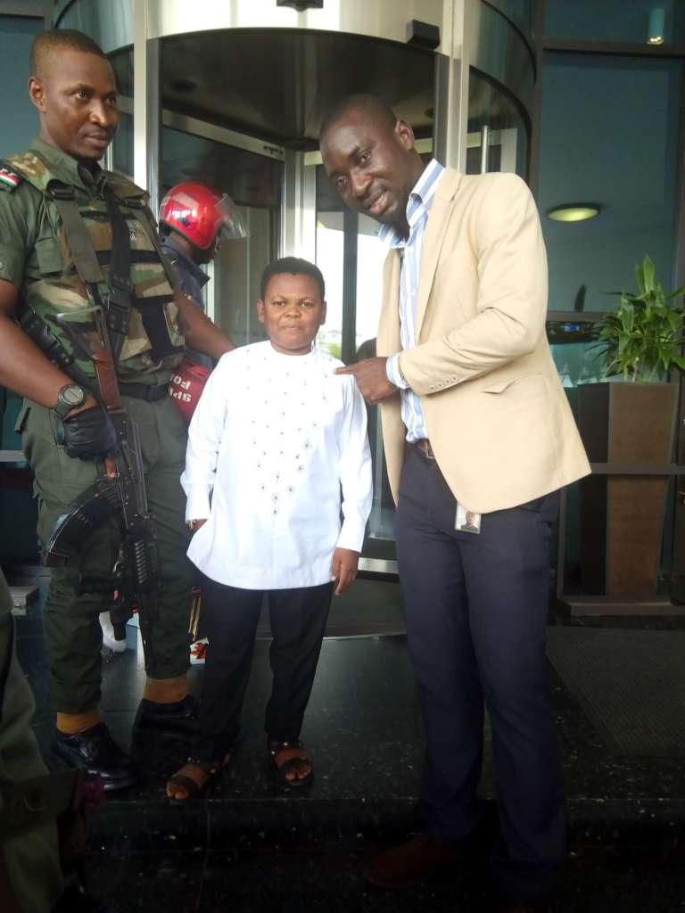 Osita Iheme aka 'Paw Paw' speaking with Uchechukwu Ugboaja