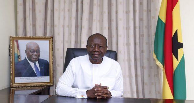 Minister of Finance Ofori Attah