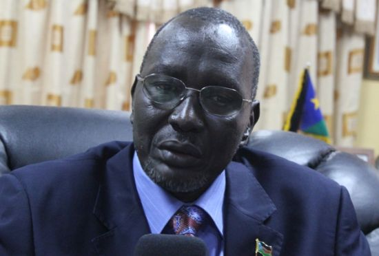 SACKED: Former South Sudan Finance minister Stephen Dhieu Dau.