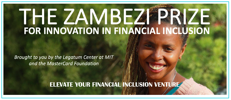 MIT and Mastercard Foundation Launch 2018 Zambezi Prize for Innovation in Financial Inclusion