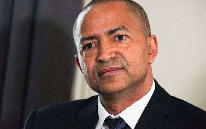 DR Congo's prominent opposition politician Moise Katumbi claims to have unrivalled popularity (AFP Photo/Thomas SAMSON)