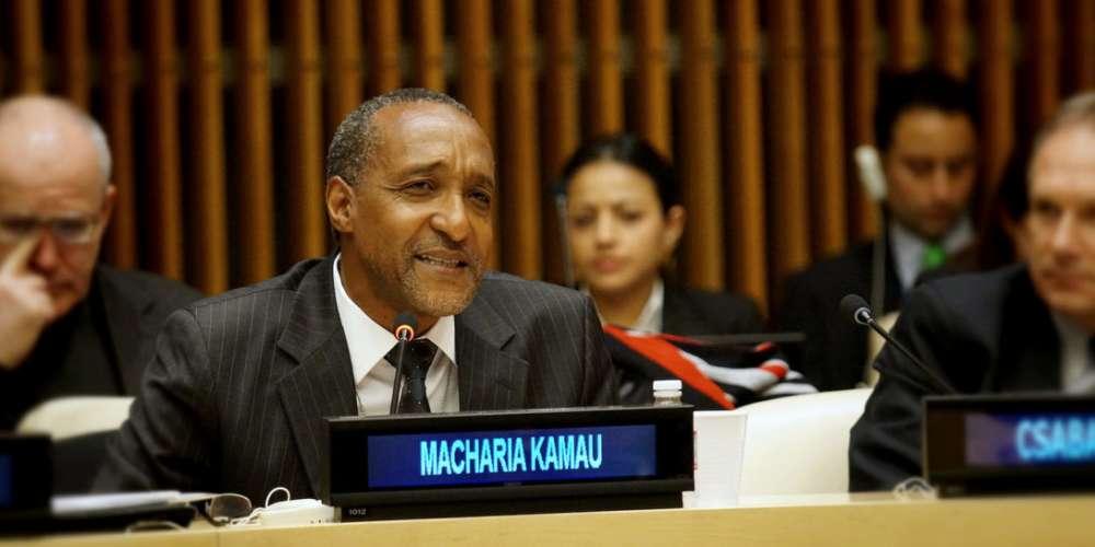 Ambassador Macharia Kamau. Credit: IDLO.