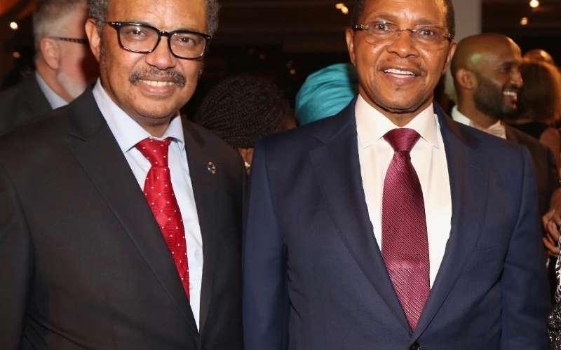 WHO Director General Dr. Tedros and HE Jakaya Kikwete