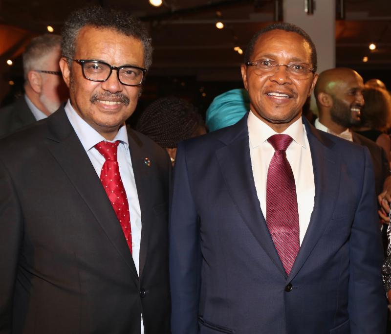 WHO Director General Dr. Tedros and HE Jakaya Kikwete