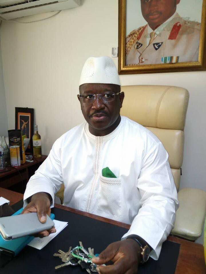 Sierra Leone People's Party (SLPP) flagbearer Brigadier Julius Maada Bio