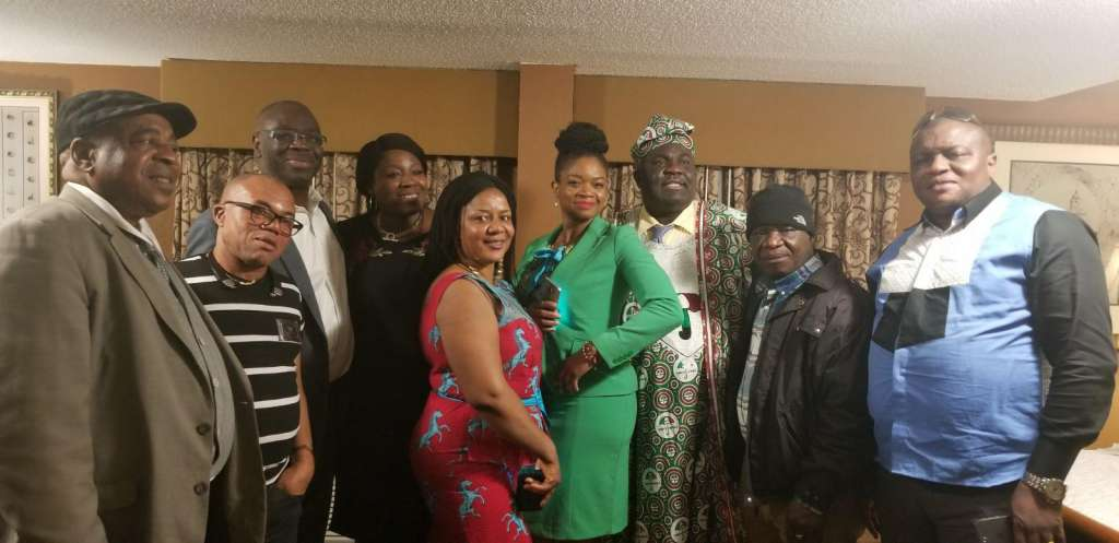 USA PDP Chapter Chair with some of the party faithful in Maryland