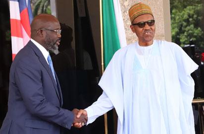 Buhari and Weah