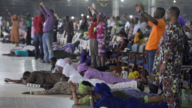 Pastor Adeboye's Redemption Camp church is one of the fastest growing in Nigeria