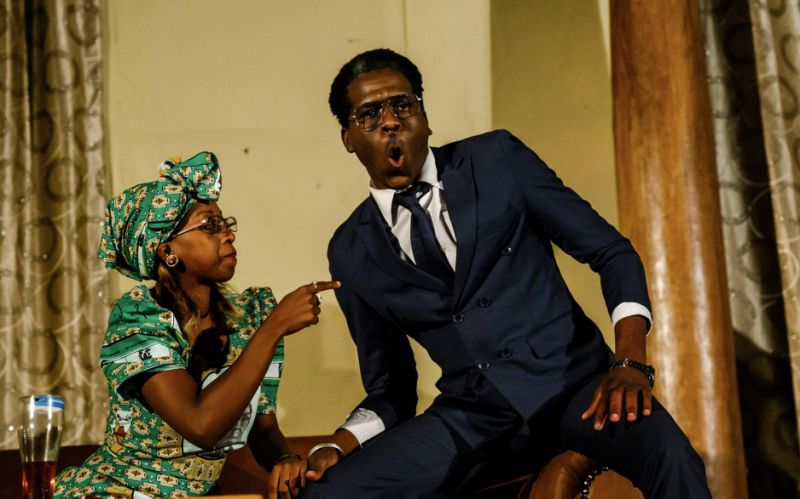 Theatregoers in Harare are getting a taste of political satire with Operation Restore Regasi - AFP