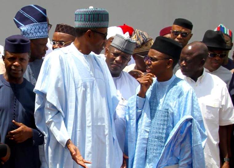 Buhari with El Rufai