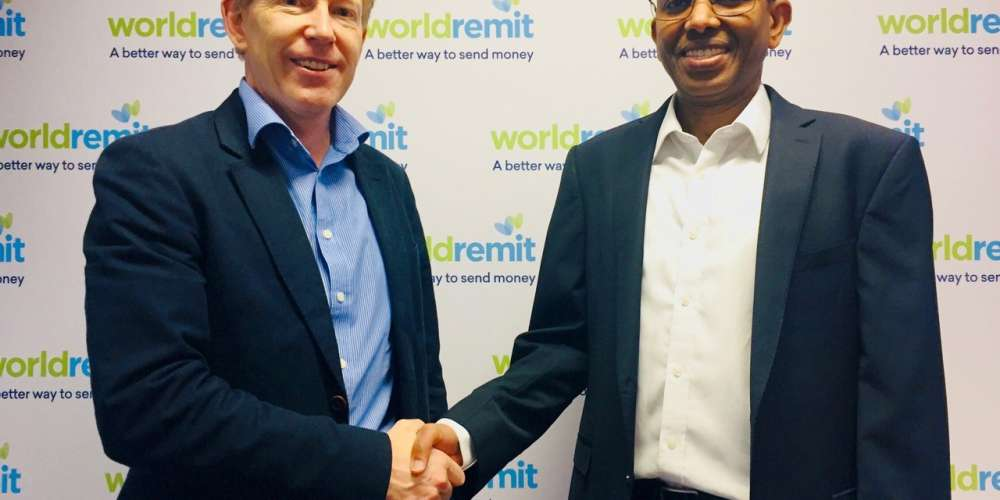 Left: Graeme Oxby, CEO at Lebara; Right, Ismail Ahmed, CEO at WorldRemit