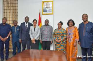 Bawumia and Liberia Delegation