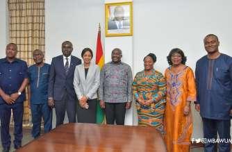 Bawumia and Liberia Delegation
