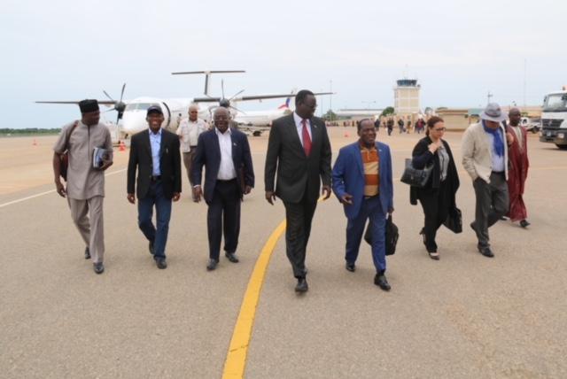 AU delegations in Juba for peace revitalization consultations