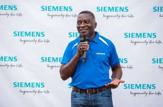 Edmund Acheampong, Country Manager for Siemens in Ghana.