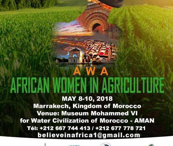 """The Mohammed IV Museum for Water Civilization in Marrakech – AMAN –  will host the second edition of """"African Women in Agriculture Congress"""" (AWA) May 8th to 10th, 2018."""