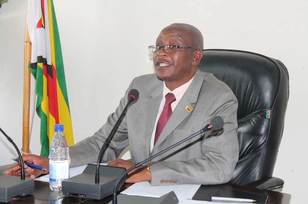 Minister of Justice Legal and Parliamentary Affairs Ziyambi Ziyambi