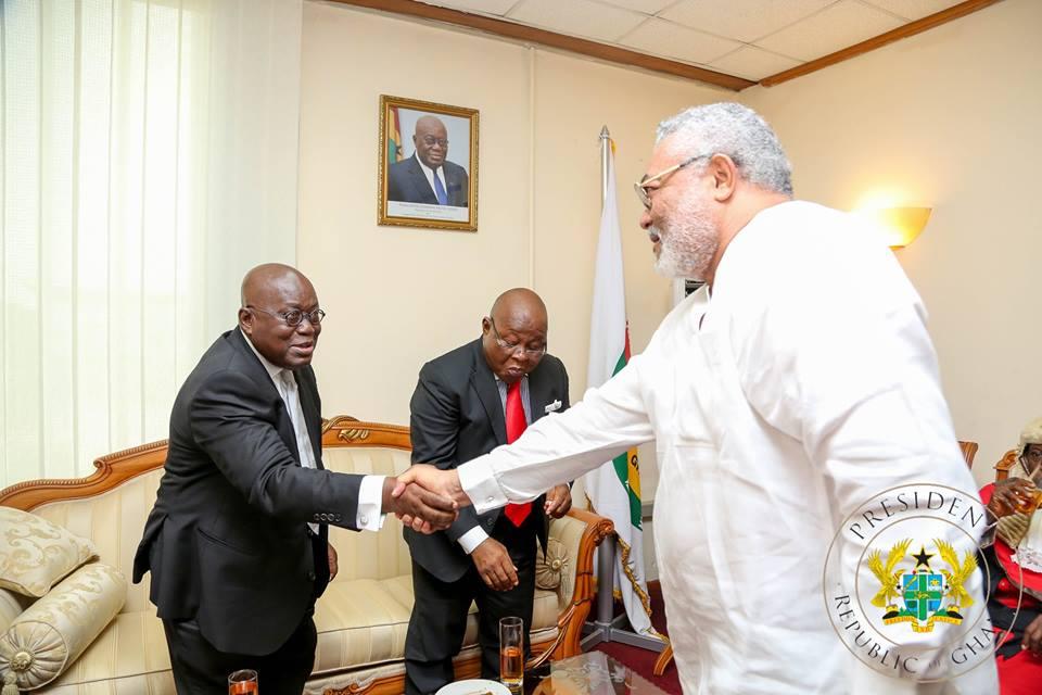 Akufo Addo with Rawlings