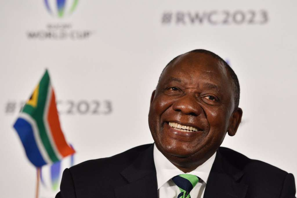 South Africa President Cyril Ramaphosa