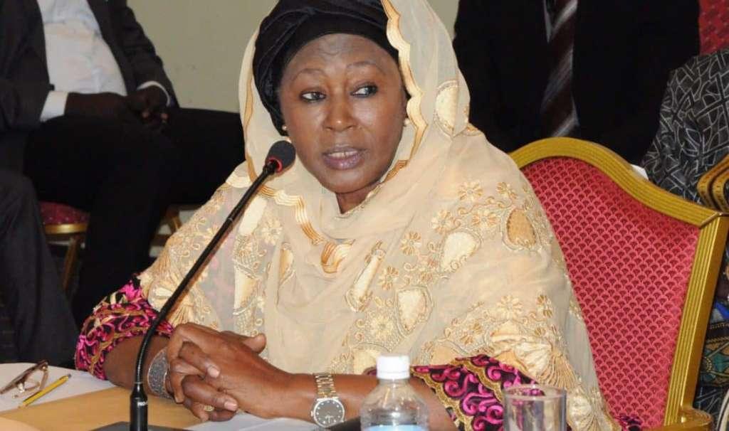 The Gambia's vice president, Fatoumatta Jallow Tambajang