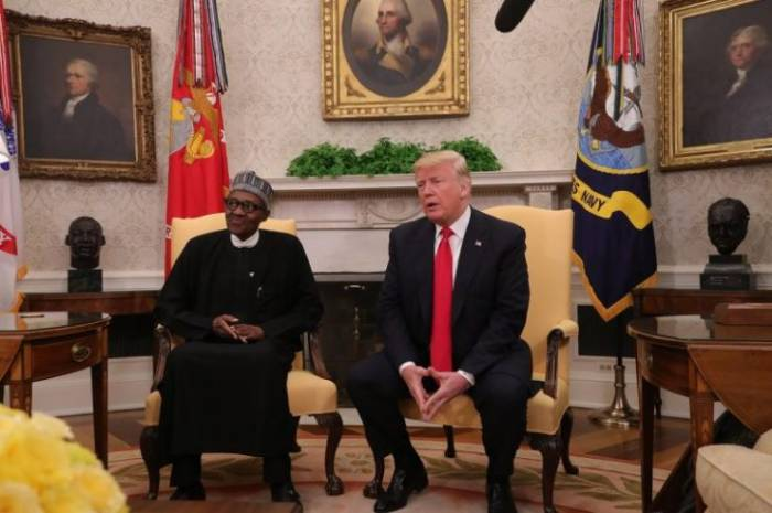 President Buhari is the first African leader to be received at the white house by President Trump