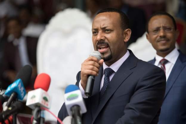 Ethiopian prime minister, Abiy Ahmed