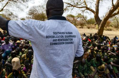 Over 200 child soldiers released from armed groups in war –torn South Sudan – UNICEF