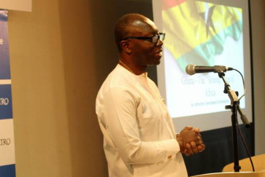 Ghana's Finance Minister Ken Ofori Atta