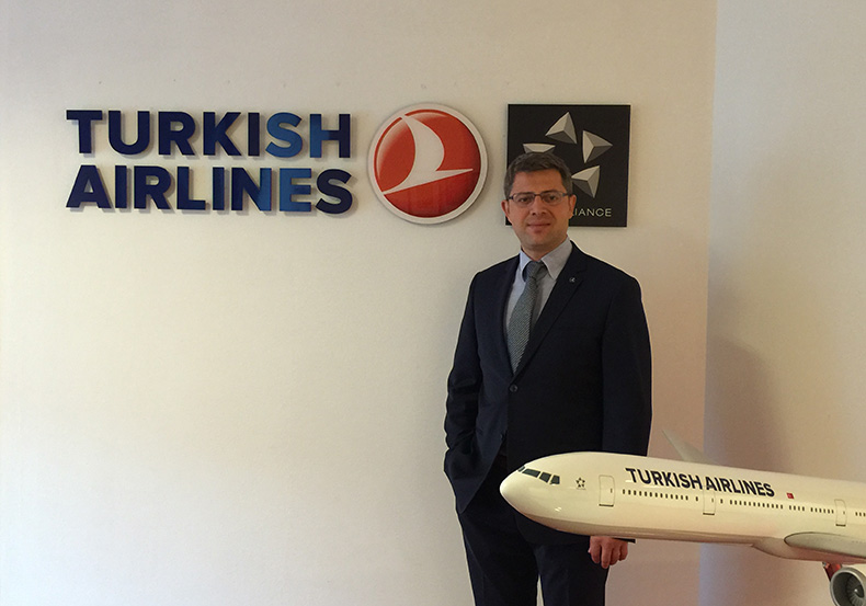 Erkan Erdogan, General Manager of the Washington, DC, Office